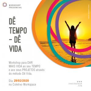 Workshop Dê Tempo – Dê Vida (5ª ed.)